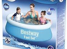 "Bestway - 6'X20"" 1.83M X 51CM Fast Set Pool مسبح"
