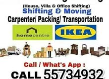 Doha movers and Packers tanisports service
