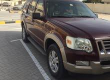 للبيع سيارة عائلية فورد اكسبلورر بحالة الوكالة موديل 2009 ب15ألف 0558356666