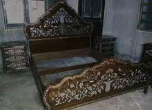 غرفة نوم صدف بحري طبيعي دمشقية