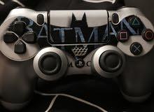 يد تحكم PLAY STATION 4 مع ستيكر BAT MAN