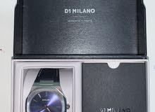 ساعة دي ون ميلانو اصلية معا صير معدني