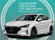 Hyundai Elantra 2020 for rent
