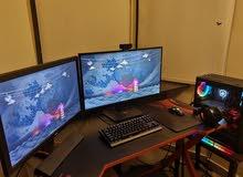 Gaming PC سيت اب كامل بمواصفات قويه