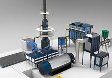 محطة معالجة الانبعاثات / Station de Traitement des Émissions