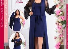 فستان نوم قطعتين السعر 18 الف القياس L.XL.2X