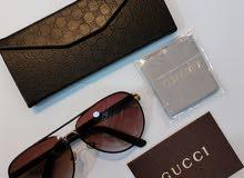 نظارات غوتشي جلد gucci sunglasses leather
