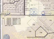 للبيع ارض كوونر في بوشر الانصب الرابعة