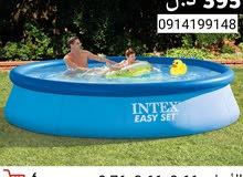 أحواض سباحة من شركة INTEX الأمريكية بأسعار تبدأ من 35 دينـار