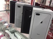 iPhone 8+ امركي اصلي كفله سنه من تاريخ الشراء حصل علا بكج هديه عند شراء