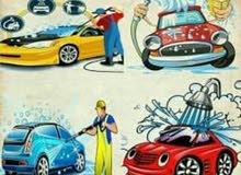تنظيف و داري كلين سيارات باحدث طرق على باب بيتك بس ب 25 دينار