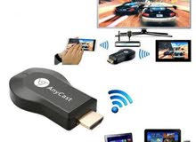 جهاز Mirascreen لبث محتوى الأجهزة الذكية على شاشة التلفزيون