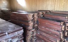 للبيع ابواب خشب مجنو جديده