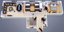 New Apartment of 115 sqm for sale Fifth Settlement