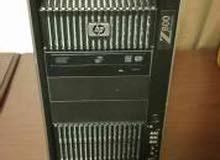 جهاز سيرفر للشركات وركستيشنHP Z800 رمات : 24 هارد : 500