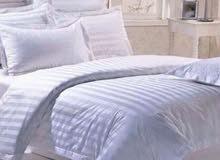 مفارش سرير المستخدمه للفنادق