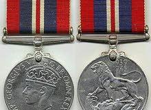 War Medal ميدالية الحرب