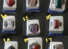 خواتم فضة عيار 925 تشكيلة مميزة اى خاتم 10 دينار للطلب 96618065