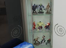 Disney Infinity 7 characters with bag and other items