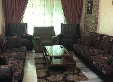 شقة ارضية مع حديقة جميلة للبيع او للبدل بأرض سكنية
