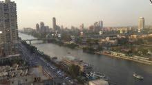 شقة مفروشة على النيل للايجار في العجوزة