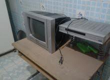 تلفزيون مع طوله ورسيفر