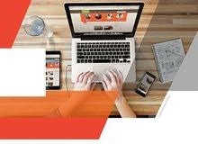 تصميم مواقع الكترونية و انشاء حملات تسويقية
