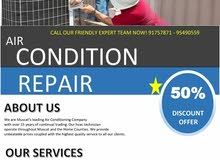 The Best Air Conditioning Service in Oman.