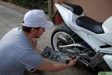 مطلوب للعمل ( ميكانيكي و كهربائي اصلاح )  دراجات نارية  فقط  + رخصة قيادة ( خصوصي او  اي رخصة اخري )
