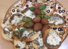 شيف فاست فود بيتزا وكريب ومناقيش شاميات