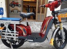 دراجة شحن كهربا الف واط جديدة بالكرتونة