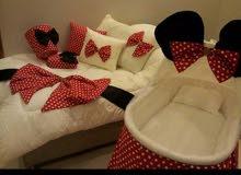 سرير بيت الطفل شكل ميكي