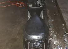 دراجة منغولي خطين لون اسود نظيفة