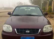 سيارة فيرنا 2013 للايجار بدون سائق للمدد فقط والشركات