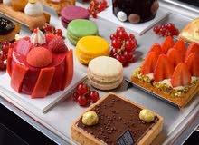 مطلوب موظفة سعودية للعمل في مجال الحلويات الفرنسية