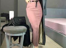 فستان بينصل مع كوت طويل