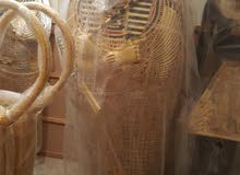 متحف فرعوني مصنوع من فيبر جلاس للديكور و التزيين