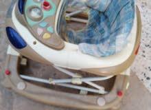 مشاي وكروسة وسرير اطفال للبيع