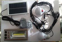 للبيع شاحن وفلاش بالطاقة الشمسية