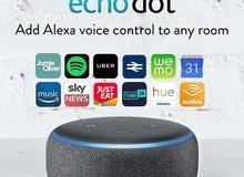 للبيع السماعة الذكية Echo Dot الاصدار الجديد