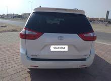 White Toyota Siena 2015 for sale