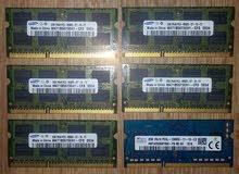 رامات للابتوب DDR3 2GB