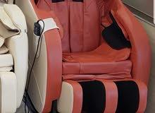 للبيع كرسي مساج جديد بالكرتون كامل المميزات وفي بلوتوث