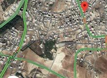 أرض للبيع مرج الحمام حوض الجلهاء على شارعين قرب شارع السلام