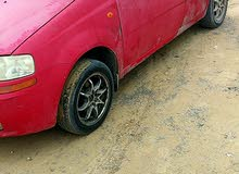 Automatic Red Daewoo 2004 for sale