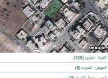 ارض للبيع في طبربور ابو عليا مساحة 991 بسعر مميز
