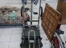جهاز رياضه يشمل فيه كل شيء مساج,مشي بحالة ممتازة