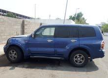 Mitsubishi Pajero 2001 For sale - Blue color