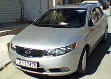 سيارة كيا فورتي ممتازة موديل 2010 تاب فل الفل