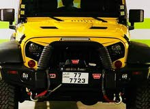 Manual Yellow Jeep 2011 for sale